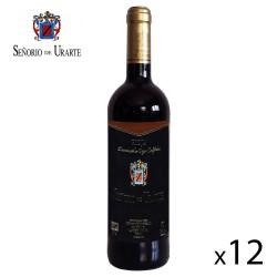 """Vino Tinto Reserva """"Señorío de Urarte"""" D.O. Rioja - 12 Botellas"""