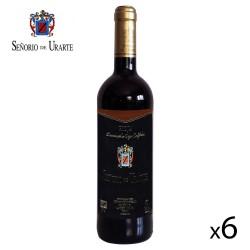 """Vino Tinto Reserva """"Señorío de Urarte"""" D.O. Rioja - 6 Botellas"""
