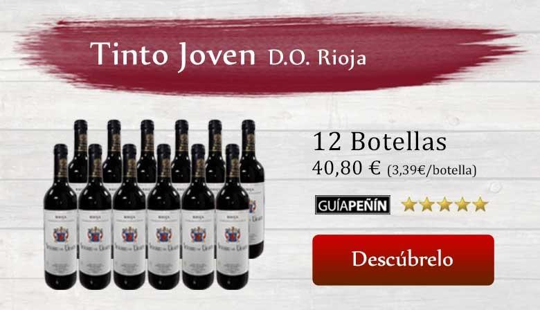 Vino Tinto Joven 2012 Señorío de Urarte D.O. Rioja