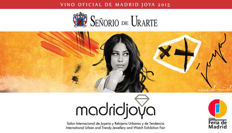Señorío de Urarte patrocinador oficial de Madrid Joya 2015